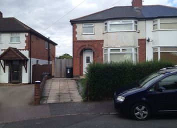 Thumbnail 3 bed terraced house for sale in North Drive, Leicester