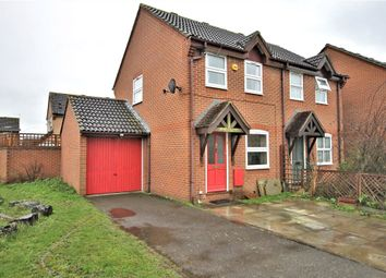 Thumbnail 2 bed semi-detached house for sale in Nuthatch Close, Stanwell Staines-Upon-Thames, Surrey