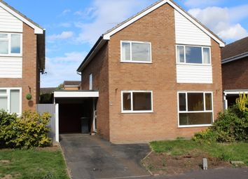 Thumbnail 4 bed detached house to rent in Sandown Close, Leamington Spa