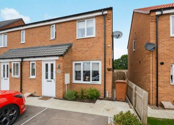 Thumbnail 3 bed semi-detached house for sale in 20 Cupola Close, Lincoln