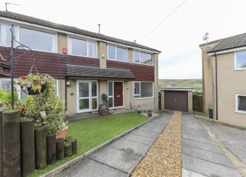 Thumbnail 3 bedroom semi-detached house to rent in Hempshaw Avenue, Loveclough, Rossendale