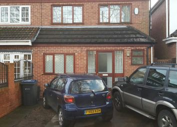 Thumbnail 5 bed semi-detached house to rent in Wood Lane, Birmingham