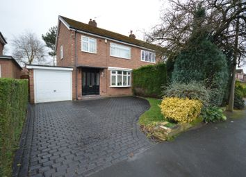 Thumbnail 3 bed semi-detached house to rent in Thornway, Bramhall, Stockport