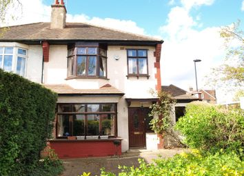 Thumbnail 3 bed semi-detached house for sale in The Ridgeway, Enfield
