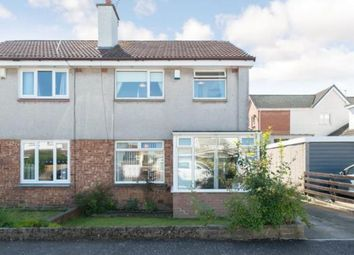 Thumbnail 3 bed semi-detached house for sale in Mainsacre Drive, Stonehouse, Larkhall, South Lanarkshire