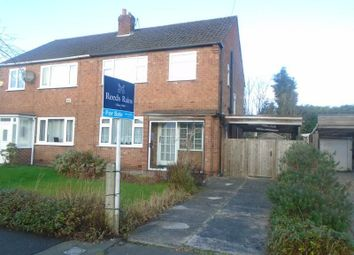 Thumbnail 3 bed semi-detached house for sale in Munro Avenue, Manchester