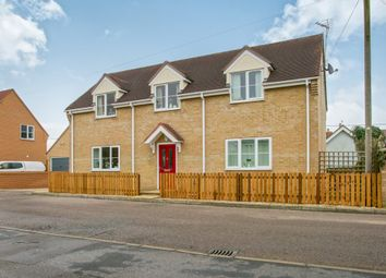 Thumbnail 3 bedroom link-detached house for sale in The Hythe, Littleport, Ely