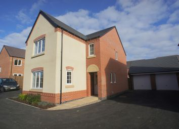 Thumbnail 4 bed detached house to rent in Bonnie Close, Derby