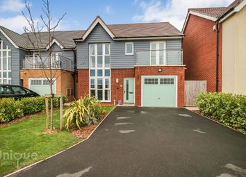 Thumbnail 4 bed detached house for sale in Admiral Close, Fleetwood