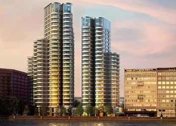 Thumbnail 1 bed flat for sale in The Corniche, Tower One, Albert Embankment