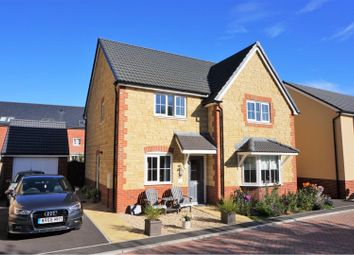 Thumbnail 4 bed detached house for sale in Moorhen Way, Shepton Mallet