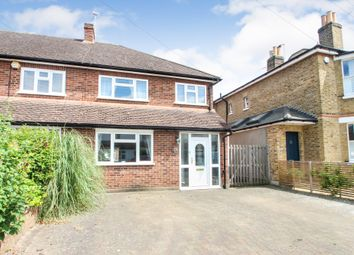 Thumbnail 3 bed end terrace house for sale in Dennis Road, East Molesey