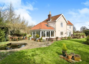 Thumbnail 3 bed cottage for sale in High Common, Cranworth, Thetford