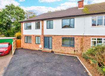 Thumbnail 5 bed semi-detached house for sale in Meadow Close, St. Albans, Hertfordshire