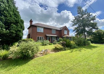 Thumbnail 4 bed detached house to rent in Wrexham Road, Faddiley, Nantwich