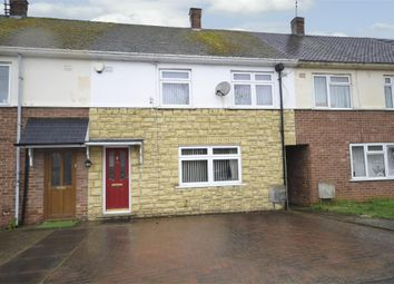 Thumbnail 3 bed terraced house for sale in Dolben Avenue, Stanwick, Northamptonshire