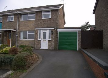 Thumbnail Semi-detached house to rent in The Chase, Kilburn, Belper, Derbyshire