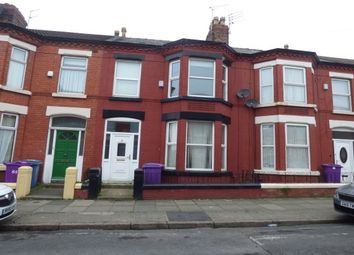 Thumbnail 3 bedroom terraced house to rent in Woodcroft Road, Wavertree, Liverpool