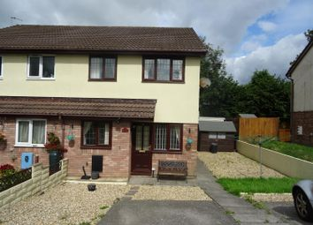 Thumbnail 1 bed semi-detached house to rent in Willowturf Court, Bryncethin, Bridgend