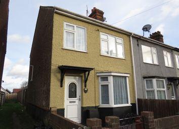 Thumbnail 3 bed end terrace house for sale in Clarkes Road, Dovercourt, Harwich