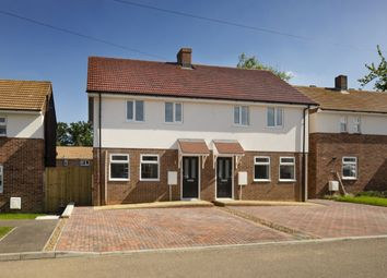 Thumbnail 3 bed semi-detached house for sale in Woodcock Avenue, Walters Ash, High Wycombe