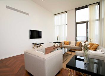 Thumbnail 3 bed flat to rent in Capital Building, Embassy Gardens, Battersea
