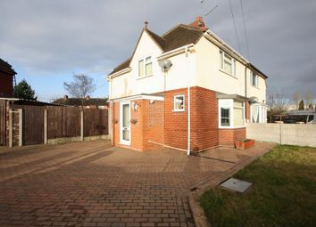 Thumbnail 2 bed semi-detached house for sale in Lower Milehouse Lane, Newcastle-Under-Lyme