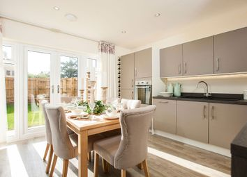 "Thumbnail 3 bed semi-detached house for sale in ""The Holnicote"" at Winchester Road, Boorley Green, Botley"