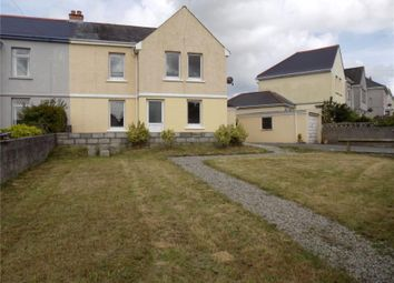 Thumbnail 3 bed semi-detached house for sale in Robartes Road, St Dennis, Cornwall