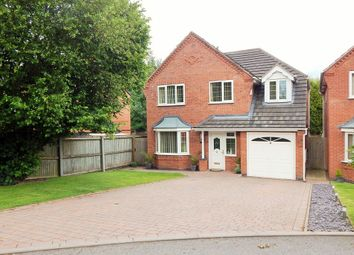 Thumbnail 4 bed detached house for sale in Oak Vale, Burntwood