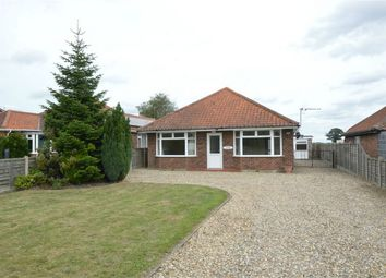 Thumbnail 3 bed detached bungalow for sale in Manor Road, Newton St Faith, Norwich, Norfolk