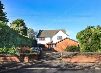 Thumbnail 4 bed detached house for sale in Hollybush Road, Cardiff