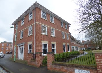 Thumbnail 2 bed flat for sale in Stephensons Place, Bury St. Edmunds