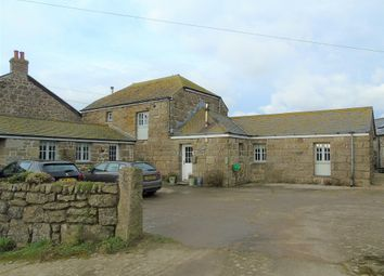 Thumbnail 4 bedroom barn conversion for sale in Trevorgans, St Buryan, Penzance, Cornwall.