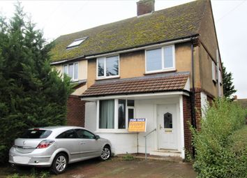 Thumbnail 3 bed semi-detached house for sale in Rowan Crescent, Biggleswade