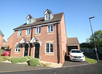 Thumbnail 3 bed semi-detached house for sale in Swan Close, Nuneaton