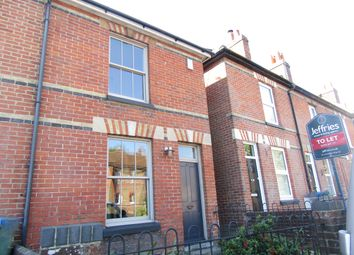 Thumbnail 2 bed end terrace house to rent in Wickham Road, Fareham