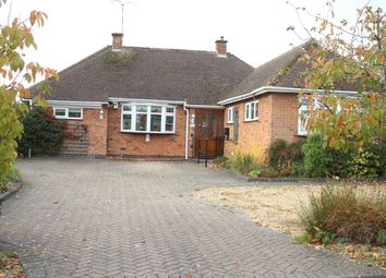 Thumbnail 3 bed detached bungalow for sale in The Fairway, Burbage, Hinckley