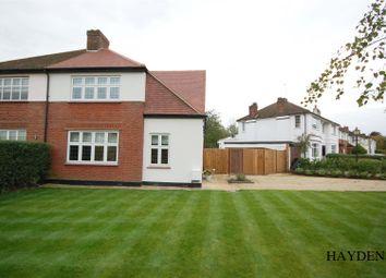 Thumbnail 3 bed semi-detached house for sale in Millcrest Road, Goffs Oak, Waltham Cross