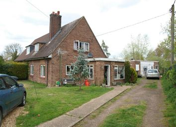 Thumbnail 3 bed semi-detached house for sale in Green Lane, Swineshead, Bedford