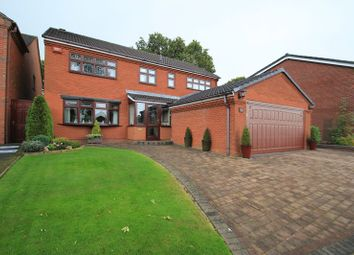 Thumbnail 4 bed detached house for sale in Holder Drive, Cannock
