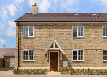 Thumbnail 3 bed semi-detached house for sale in Rowley Meadows, Langford, Beds