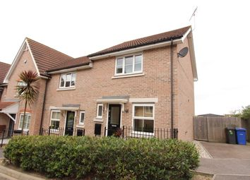 Thumbnail 2 bed end terrace house to rent in Weymouth Drive, Chafford Hundred, Grays