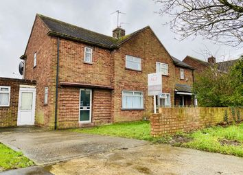 Thumbnail 4 bed semi-detached house for sale in Norman Road, Eastfield, Peterborough