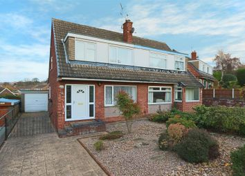 Thumbnail 3 bedroom semi-detached house for sale in Greaves Close, Arnold, Nottingham