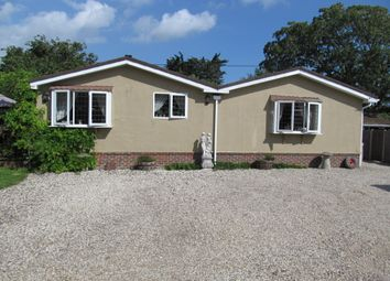 Thumbnail 2 bed mobile/park home for sale in The Paddocks, Northfields Lane, Westergate, Chichester, West Sussex