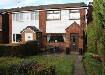 Thumbnail 3 bed semi-detached house for sale in Hanging Lees Close, Newhey, Rochdale
