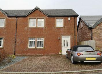 Thumbnail 2 bed semi-detached house for sale in Rowangate, Hensingham, Whitehaven