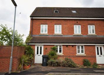Thumbnail 3 bedroom end terrace house for sale in Pavilion Close, Town Centre Area, Swindon