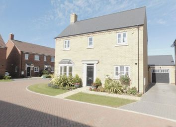 Thumbnail 4 bed detached house for sale in Jubilee Close, Blunham